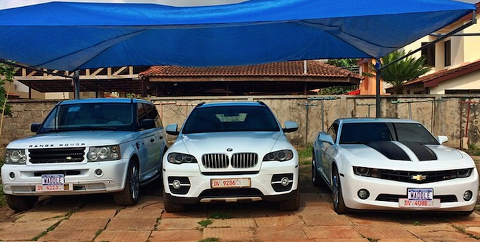 Ghanaian celebrities and their new cars 700x353 theinfong.com