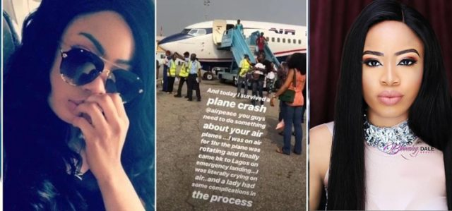 Nina Narrowly Escapes Near Plane Crash