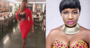 Princess Shyngle shows off tiny waist