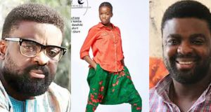 Kunle Afolayan celebrates Daughter