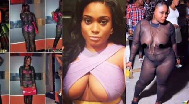 Times Nigerian girls went completely naked in public