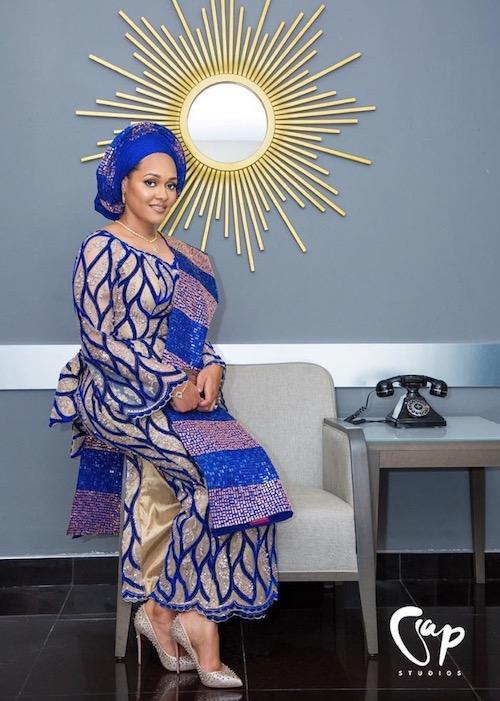 Tani Omotayo shares traditional wedding photos