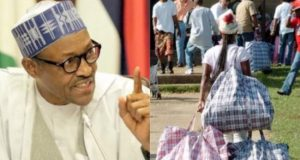 Buhari says Nigerians can leave the country