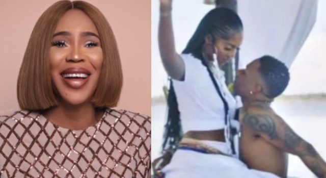 Faithia Balogun speaks about Wizkid and Tiwa Savage Fever Video