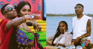Tiwa Savage called herself Wizkid's First Lady
