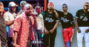 Davido's DMW crew insult Wizkid and Tiwa Savage