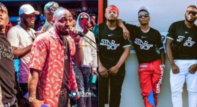Davido's DMW crew insult Wizkid and Tiwa Savage