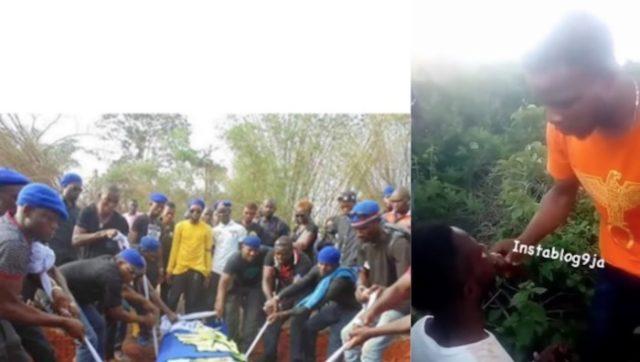 Eiye initiation in Lagos