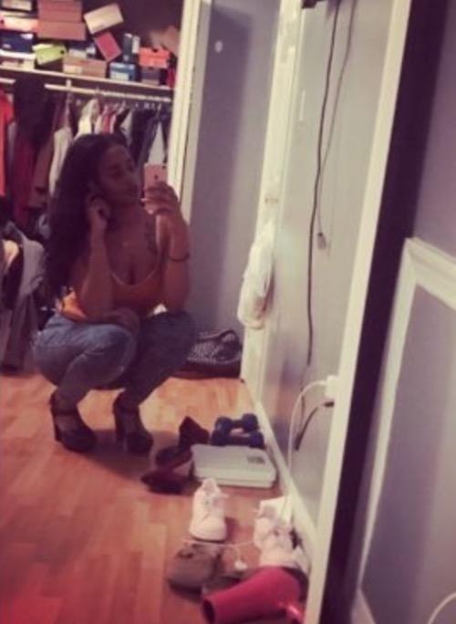 Becky Okorie shows room