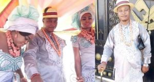 Wedding photos from Deltan Prince who married 2 women