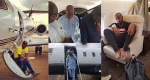 Davido says he gave his dad his private jet