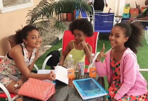 Chisom, Chidinma and Chinenye the Oguike chilling