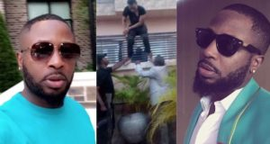 US Police officer Tunde Ednut insulted deals with him