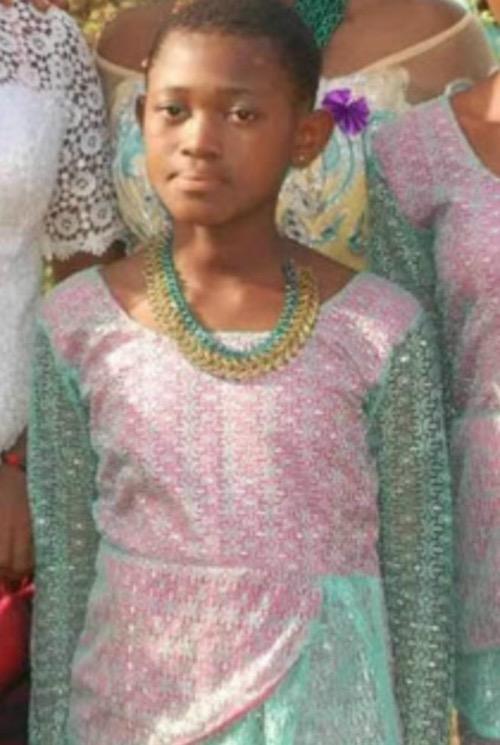 Ochanya, 13 year old raped to death