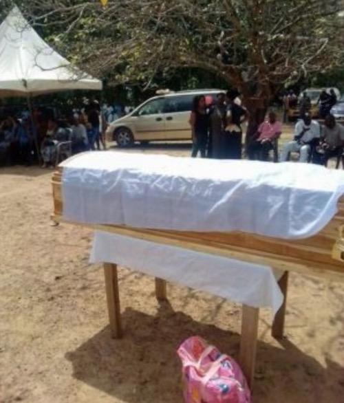 Ochanya's coffin