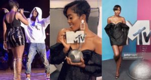 Tiwa Savage wins MTV Best African Act - MTV EMA