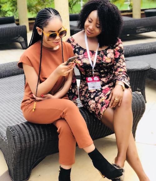 Nina at Lagos Fashion show