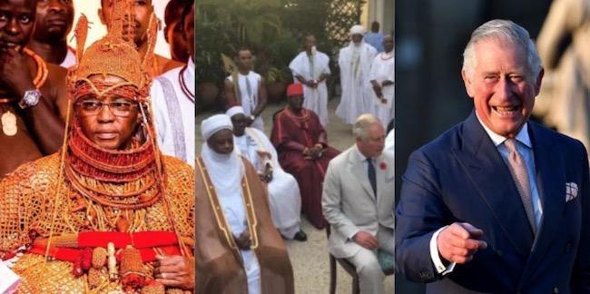 Image result for prince charles oba of benin