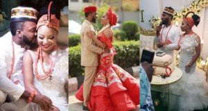 Wedding photos of Linda Ejiofor and Ibrahim Suleiman