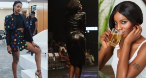 Seyi Shay bashes a fan's mum
