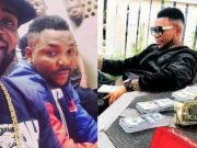Oritse Femi fake dollars