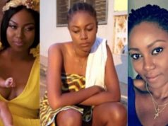 Yvonne Nelson, baby girl and baby daddy