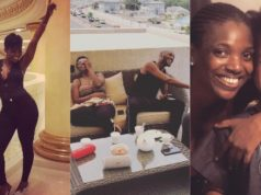 Annie Idibia reacts to 2Face split