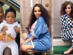 Bukola Adeeyo gives birth