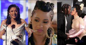 Cardi B attacks Grammy haters