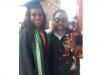 Ras Kimono in jubilant mood as daughter graduates