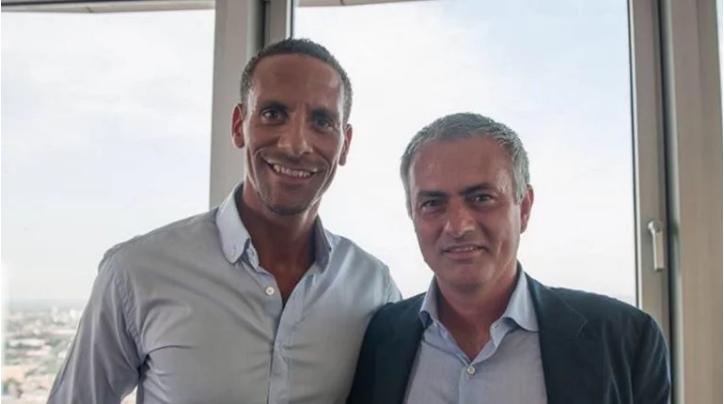 Ferdinand-Mourinho