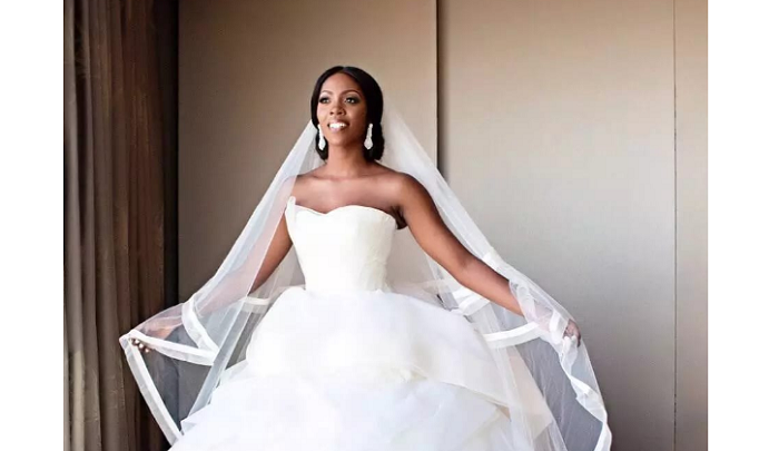 Stunning Nigerian celebrity wedding gowns