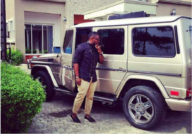 Nigerian celebrities that are owners of a Mercedes-Benz