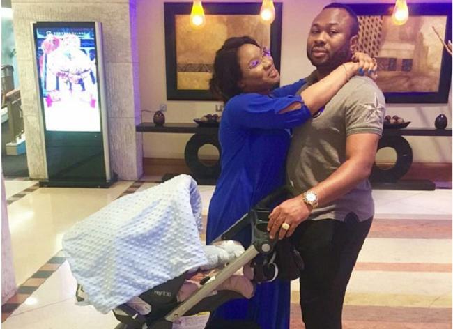 tonto-dikeh-celebrates-her-7-month-old-son