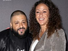 DJ Khaled and his wife