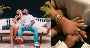 Chioma and Davido Engaged