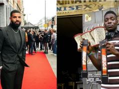 Drake help Nigerian boy