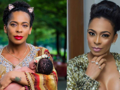 Tboss gushes as she shows off her daughter