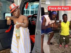 Ghanaian Millionaire Shatta Bandle in Nigeria, visits Paul Okoye's mansion