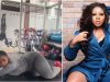 Nollywood actress, Moyo Lawal twerks heavily in new gym Video