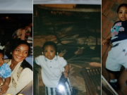 Davido shares his childhood photos