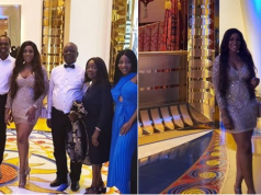 Lovely photos from Linda Ikeji's 39th birthday dinner in Dubai