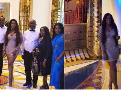 Lovely photos from Linda Ikeji's 39th birthday dinner in Dubai