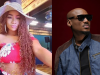 Tacha 'snubs' 2face Idibia's handshake during his visit to the house (Video)
