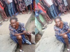 Bird allegedly turns to an old woman at Oworonshoki in Lagos, confesses (video)