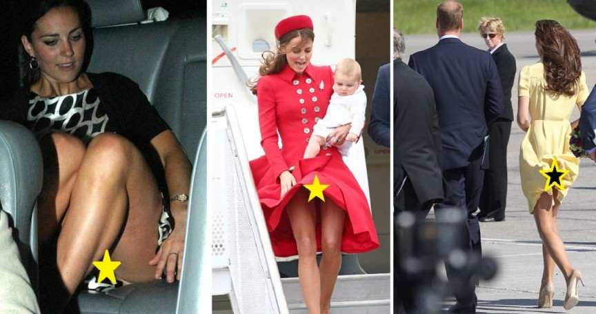 the 12 most scandalous kate middleton photos of all time