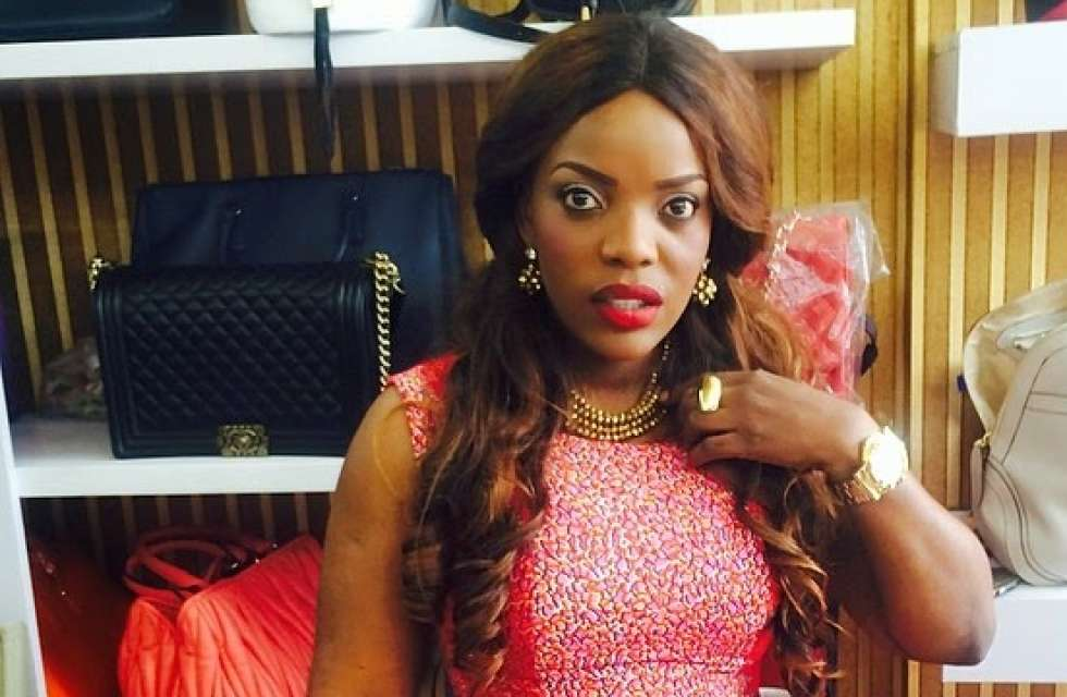 Empress Njamah Empress Njamah in a messy fight TheInfoNGcom