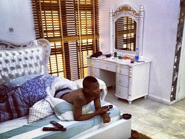 Olamide, Davido and Wizkid Houses - Their interior decorations will